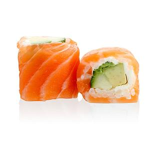SR3 - Saumon Roll Avocat Concombre Cheese