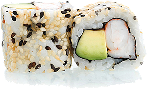 CR4 - California Roll Crevette Avocat